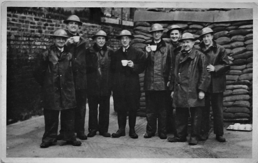 Granddad and the air raid wardens
