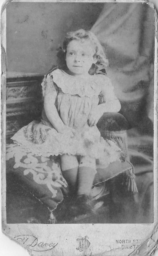 Nan as a little girl