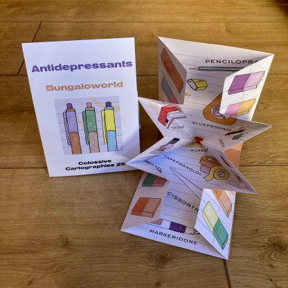 Antidepressants by Bungaloworld (Colossive Cartographies, Colossive Press)
